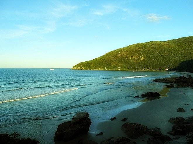 Praia do Matadeiro, em Florianópolis: procurada por surfistas