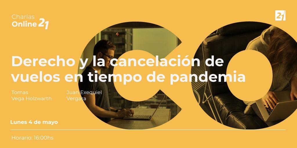 Derecho y la cancelación de vuelos en tiempo de pandemia - Universidad Siglo 21