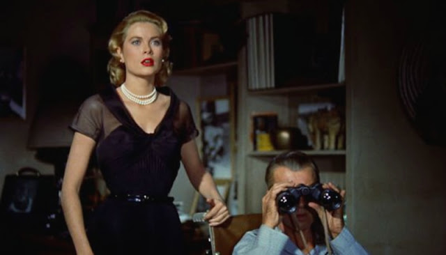 Rear Window Grace and James