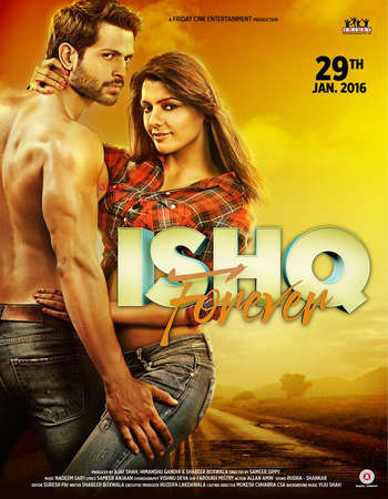 Poster Of Ishq Forever 2016 Hindi 700MB Cam Xvid Free Download Watch Online