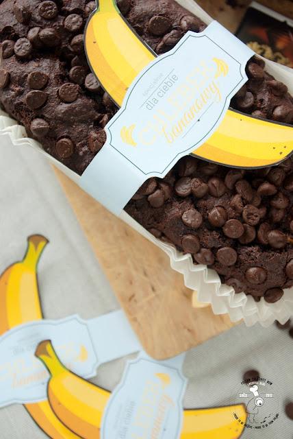 przepis na bezglutenowy chleb bananowy czekoladowy bez latozy