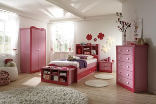 wallpaper design for girl bedroom