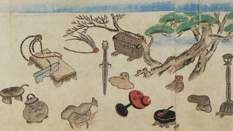 付喪神絵巻 / Tsukumogami Emaki - fin de l'ère Edo