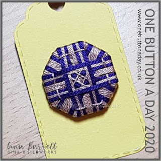 Day 334 : Check - One Button a Day 2020 by Gina Barrett