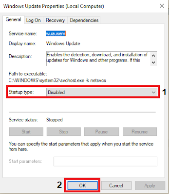 Mematikan Automatis Update Windows 10