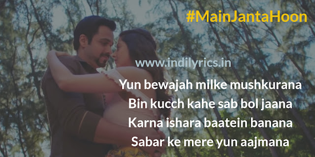 Main Janta Hoon | The Body | Jubin Nautiyal | Pics | Images | Quotes