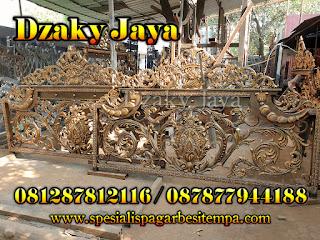 Pembuatan pagar klasik mewah untuk wilayah Ambon
