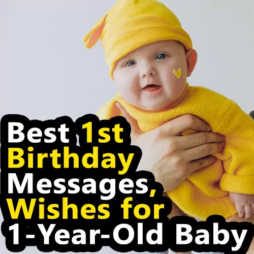 Here is the best collection of 1st birthday messages and first birthday wishes to use in your Instagram captions for 1-year-old baby birthday pictures.