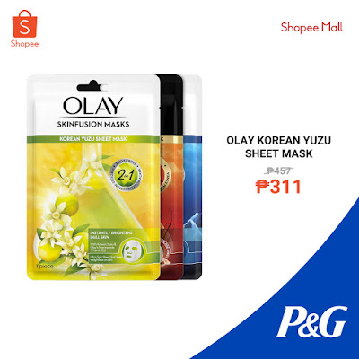 Olay Korean Yuzu Sheet Mask
