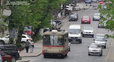 Trolejbus Škoda 14Tr #574, Lwów