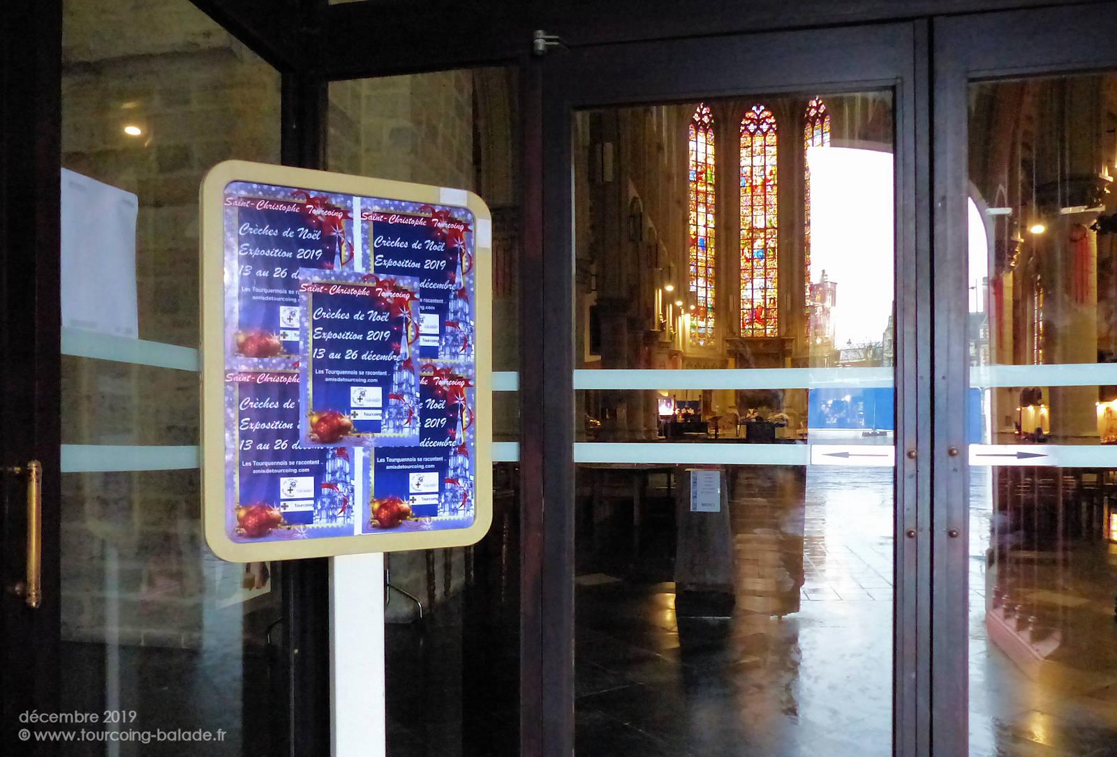 Église Saint Christophe, Tourcoing - Entrée.