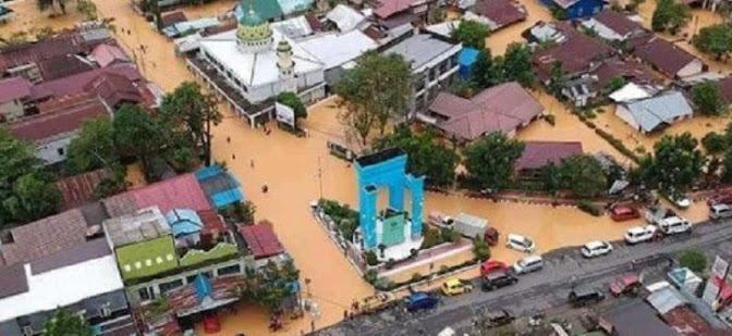 24 ribu rumah terendam banjir di kalsel