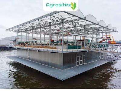 Floating Farm Tampak Samping