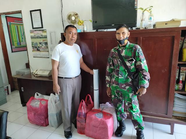 Korem 081/DSJ Distribusikan Ribuan Masker dan Hand Sanitizer ke Satuan Jajarannya
