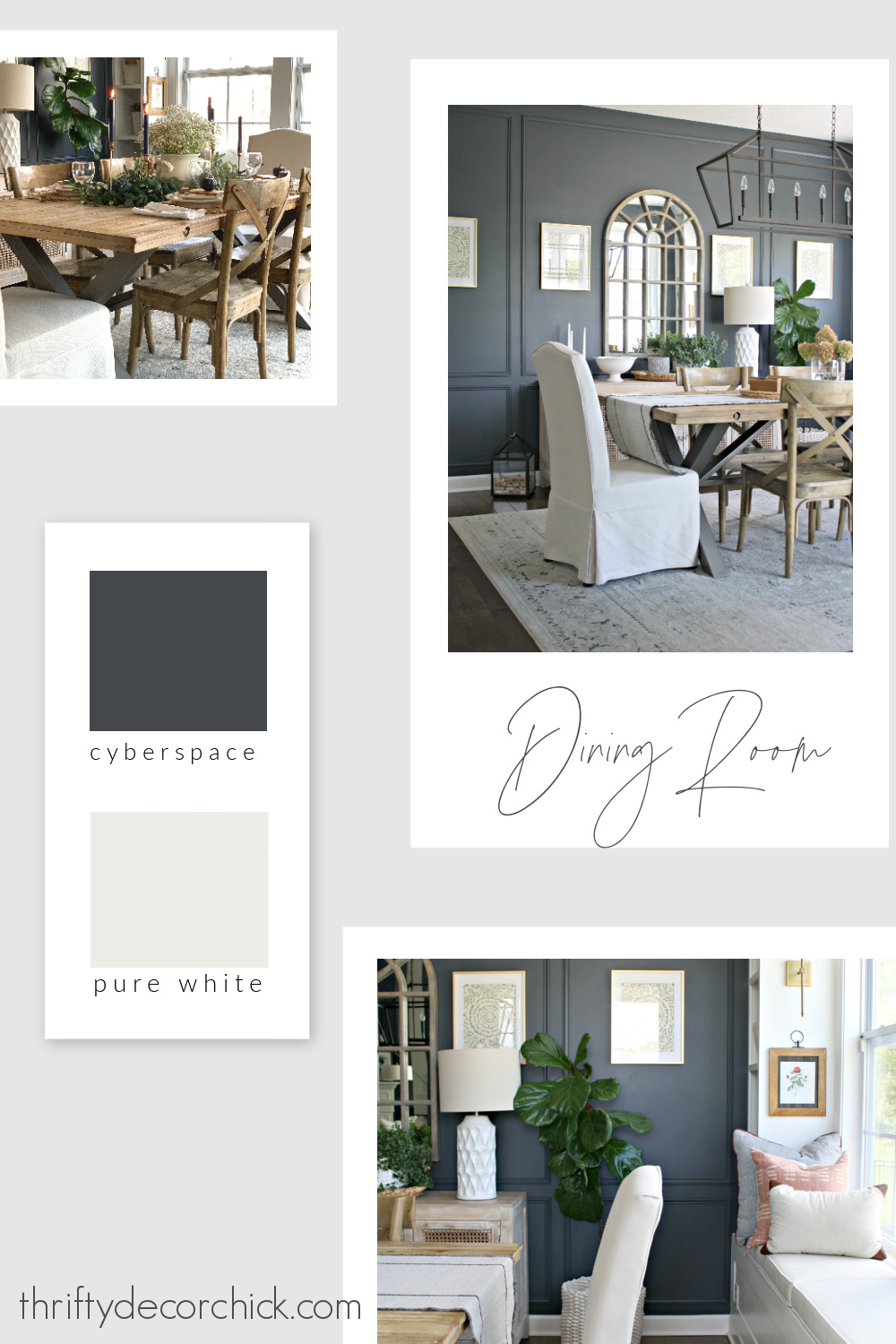 Thrifty Decor Chick dining paint colors
