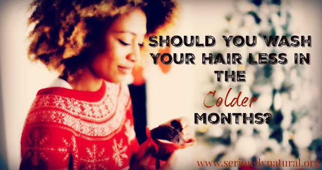 Should You Wash Your Hair Less In The Colder Months? | WINTER HAIR CARE