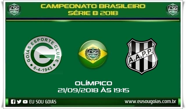 Começou hoje venda de ingressos para Goiás x Ponte Preta