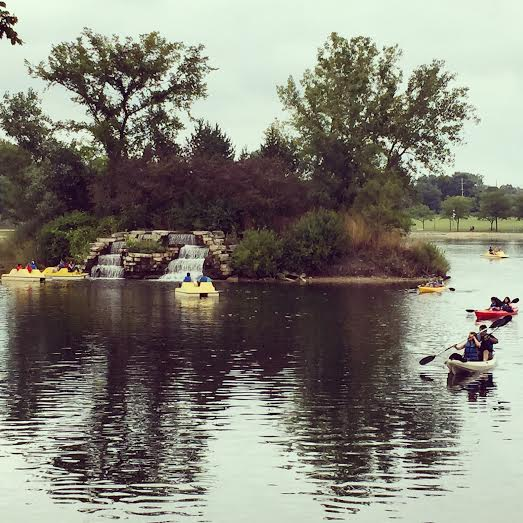 A Little Time And A Keyboard Paddleboating At Twin Lakes
