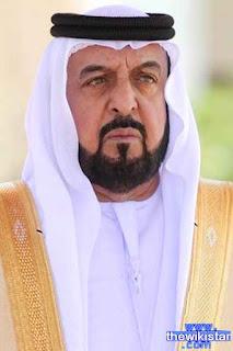 الشيخ خليفة بن زايد آل نهيان (Khalifa bin Zayed Al Nahyan)، رئيس دولة الإمارات العربية المتحدة وحاكم إمارة أبوظبي