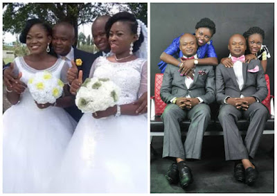 Identical Twin Brothers Wed Identical Twin Sisters Marry In Akwa Ibom (Photos)