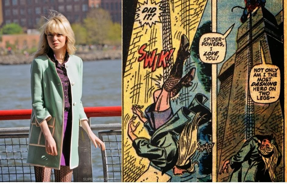 The Death of Emma Stone's Gwen Stacy in Amazing Spider-Man 2!