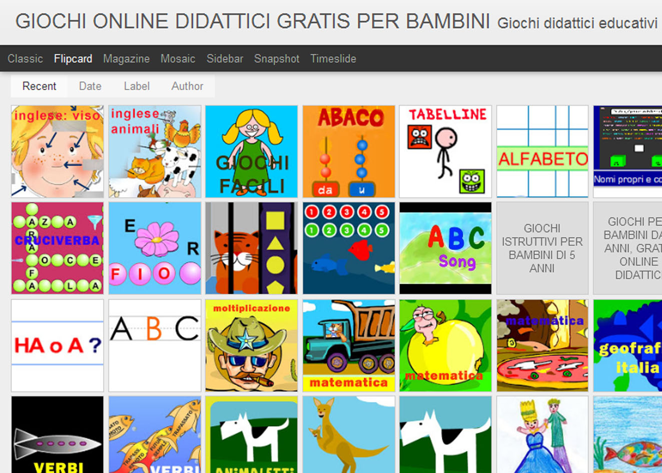 Gioco on line gratis