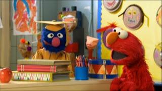 Professor Grover wants to teach preschoolers the alphabet and Elmo helps him. Sesame Street Preschool is Cool ABCs With Elmo