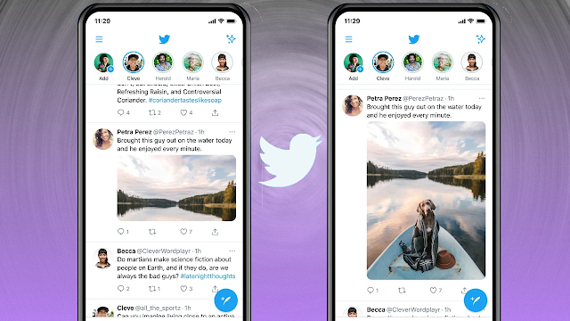 Today we're launching a test to a small group on iOS and Android to give people an accurate preview of how their images will appear when they Tweet a photo.