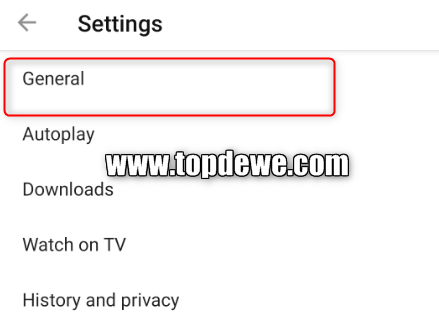 Cara blokir konten dewasa di youtube android