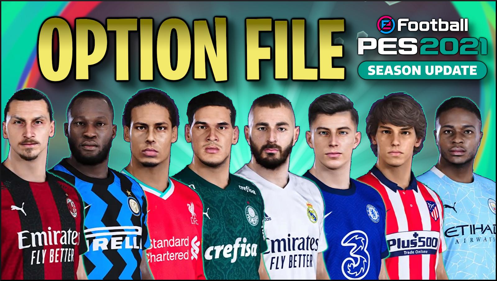 PES 2021 PS4 PESVicioBR Option File V1 ~ SoccerFandom.com | Free PES Patch  and FIFA Updates
