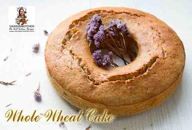 viaindiankitchen - Whole Wheat Cake