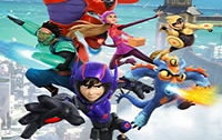 Big Hero 6 Baymax Sky Patrol Games