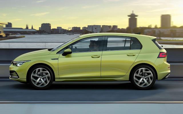 Novo VW Golf 8 2020