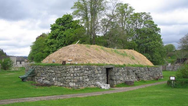 Highland Folk Museum Kingussie Scotland