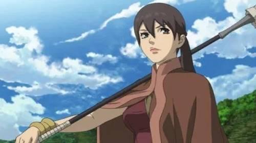 karakter anime cantik dan kuat