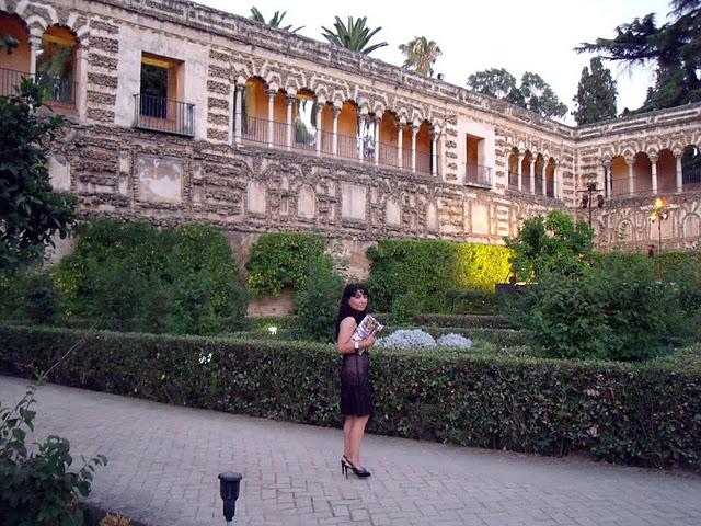 jardines del real alcazar de sevilla pilar bernal maya