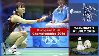 Live European Club Championships 2019