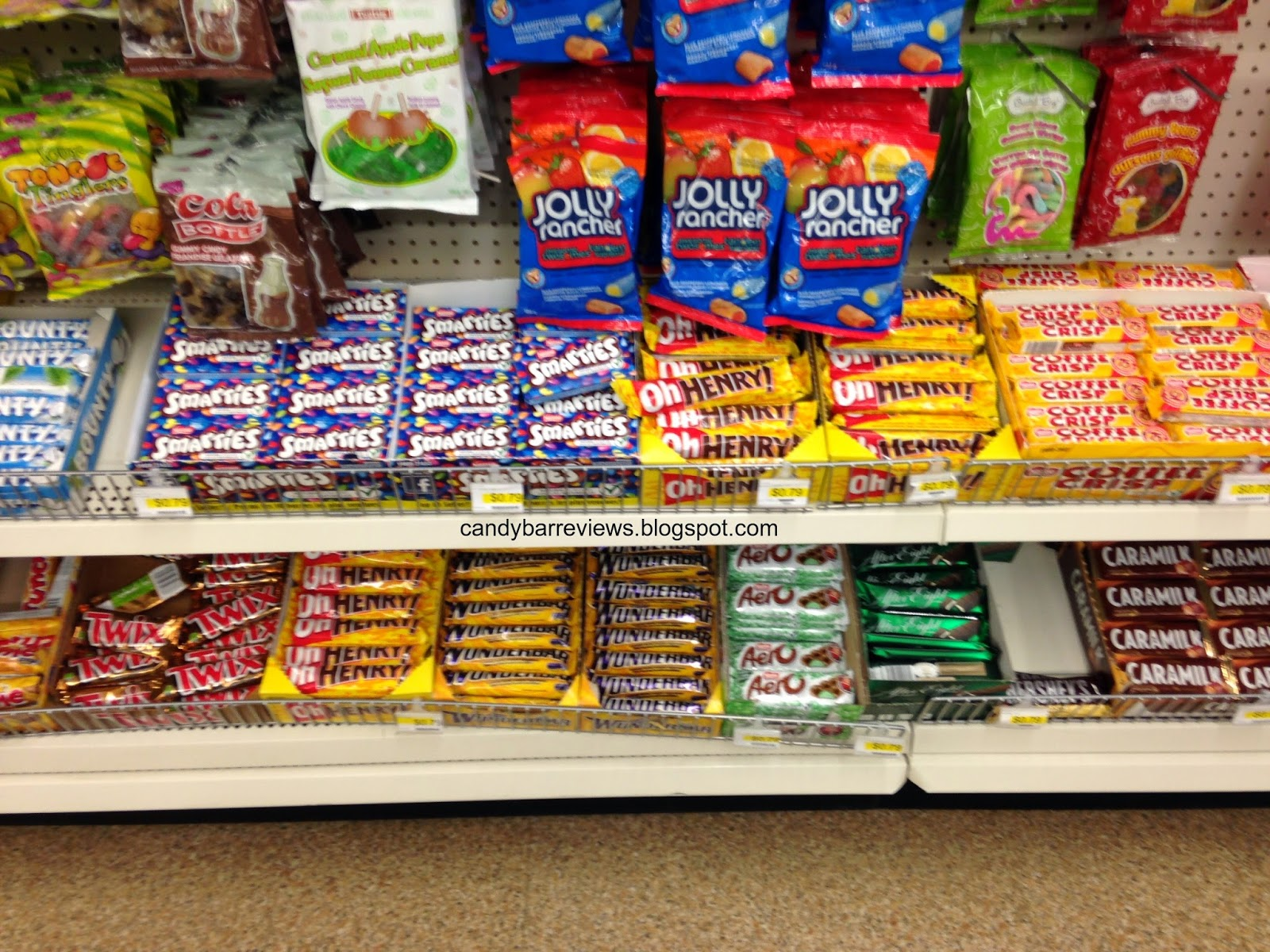 Candy Bar Reviews: Candy Hunting - Canadian Candy Smarties Canada
