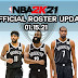 NBA 2K21 OFFICIAL ROSTER UPDATE 01.15.21 LATEST  TRADE AND TRANSACTIONS [JAMES HARDEN ON NETS]