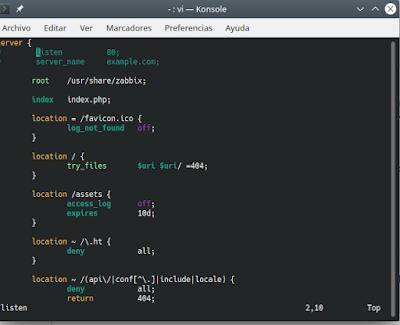 Cosvernauta_pantalla13_zabbix_Configuracion