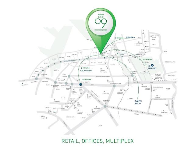 Location plan - Indiabulls One09