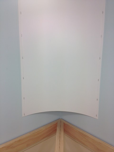 coving corner template - the old main line subdivision to cove or not to cove