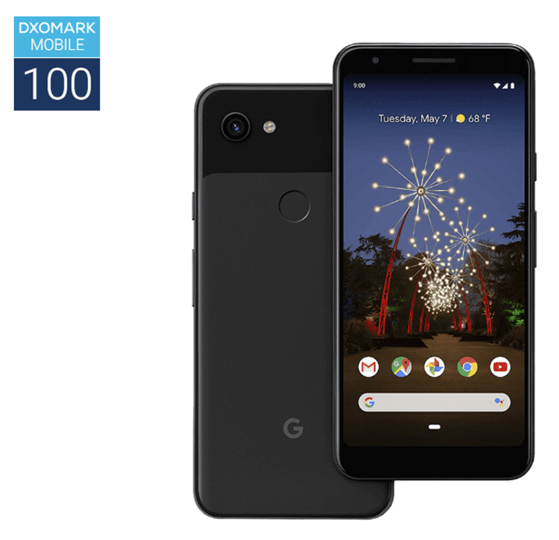 Google Pixel 3a got a decent score of 100 points at DxOMark