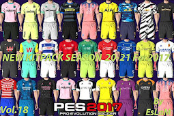 NEW Kitpack Season 2020-2021 V18 AIO - PES 2017