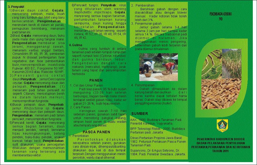 Pertanian Tanaman Pangan Dan Peternakan Nunukan Aneka Leaflet Pertanian