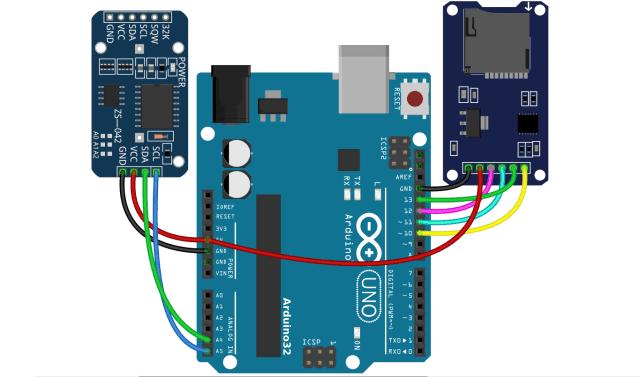 Cara Membuat Data Logger Arduino Uno, RTC DS3231 dan MicroSD
