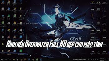 Hình nền Overwatch Full HD đẹp cho máy tính