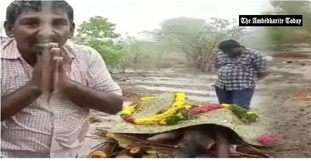Denied permission to cremate kin at common ground, Dalits forced to burn body with petrol