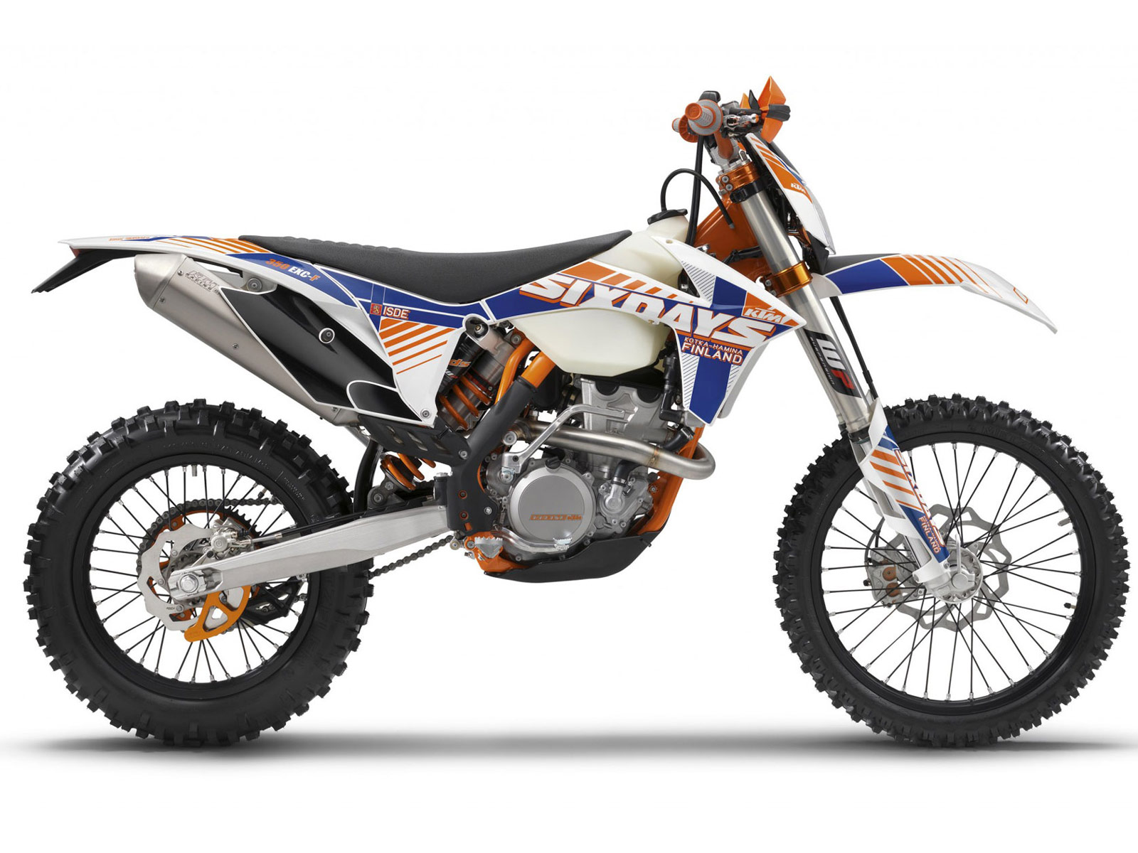 2012 KTM 350 EXC-F Six Days review | Motorcycle Desktop Wallpapers