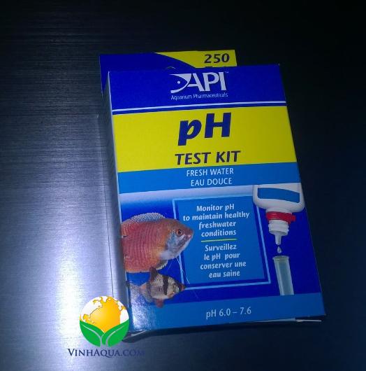 bộ kit test pH hồ thủy sinh nuôi cá